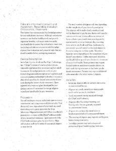 Invisalign Consent pdf
